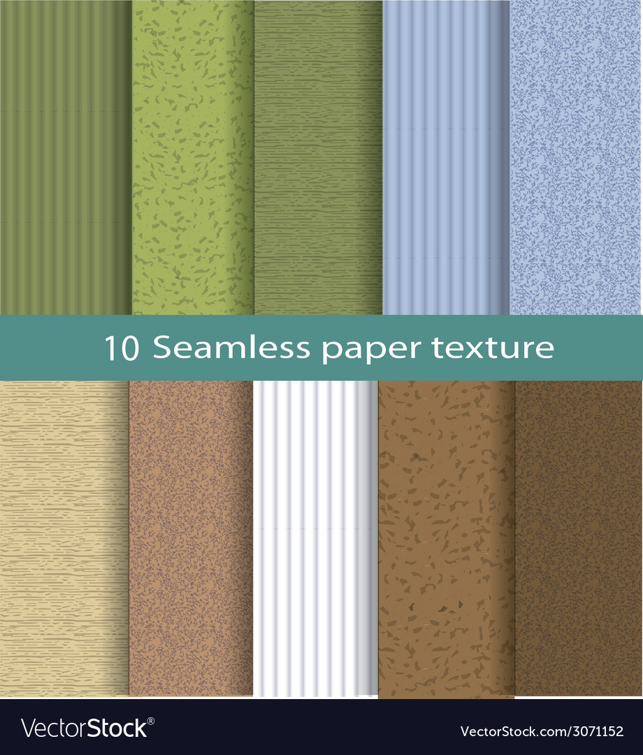 Paper seamless texture background set 2 vector | Price: 1 Credit (USD $1)
