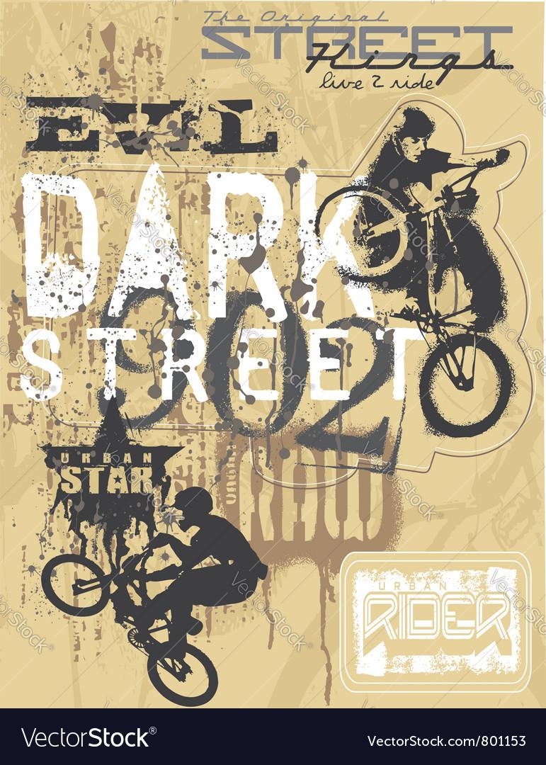 Bike lover3 vector | Price: 1 Credit (USD $1)