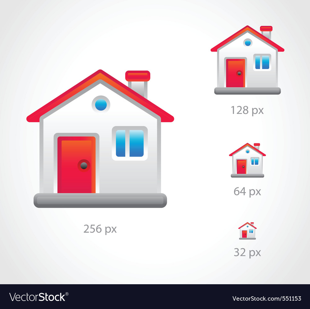 Home icon vector | Price: 3 Credit (USD $3)
