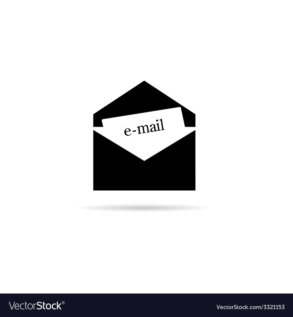Letter icon for mail vector | Price: 1 Credit (USD $1)