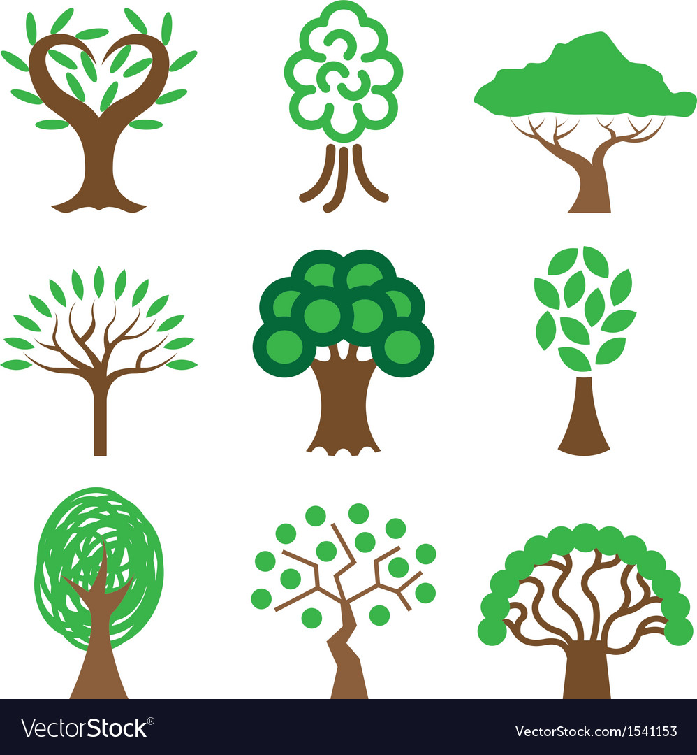 Logo icons tree vector | Price: 1 Credit (USD $1)