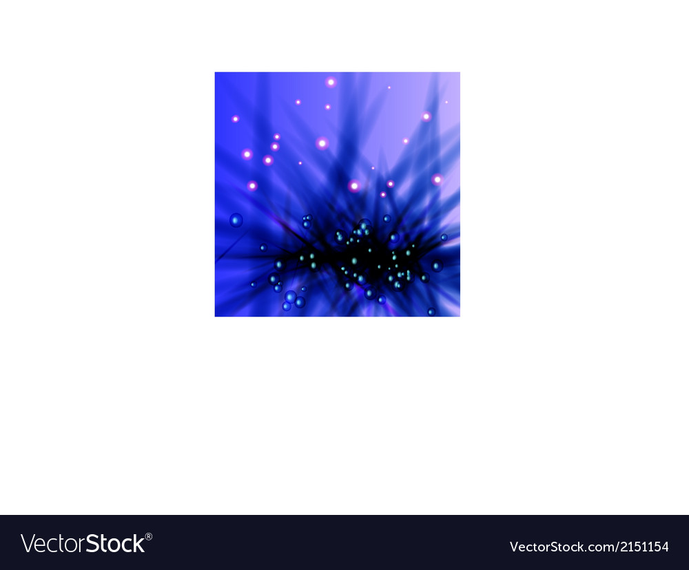 Blue background with sparks vector | Price: 1 Credit (USD $1)