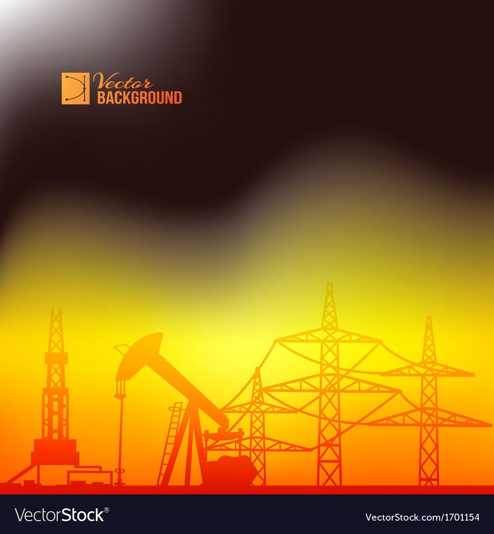 Industrial pump abstraction vector | Price: 1 Credit (USD $1)