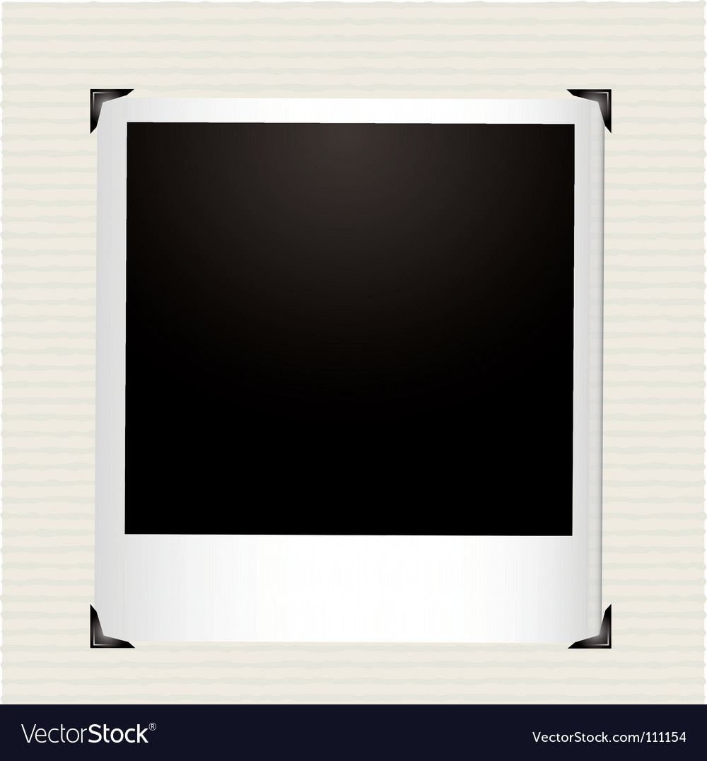 Polaroid photo vector | Price: 1 Credit (USD $1)