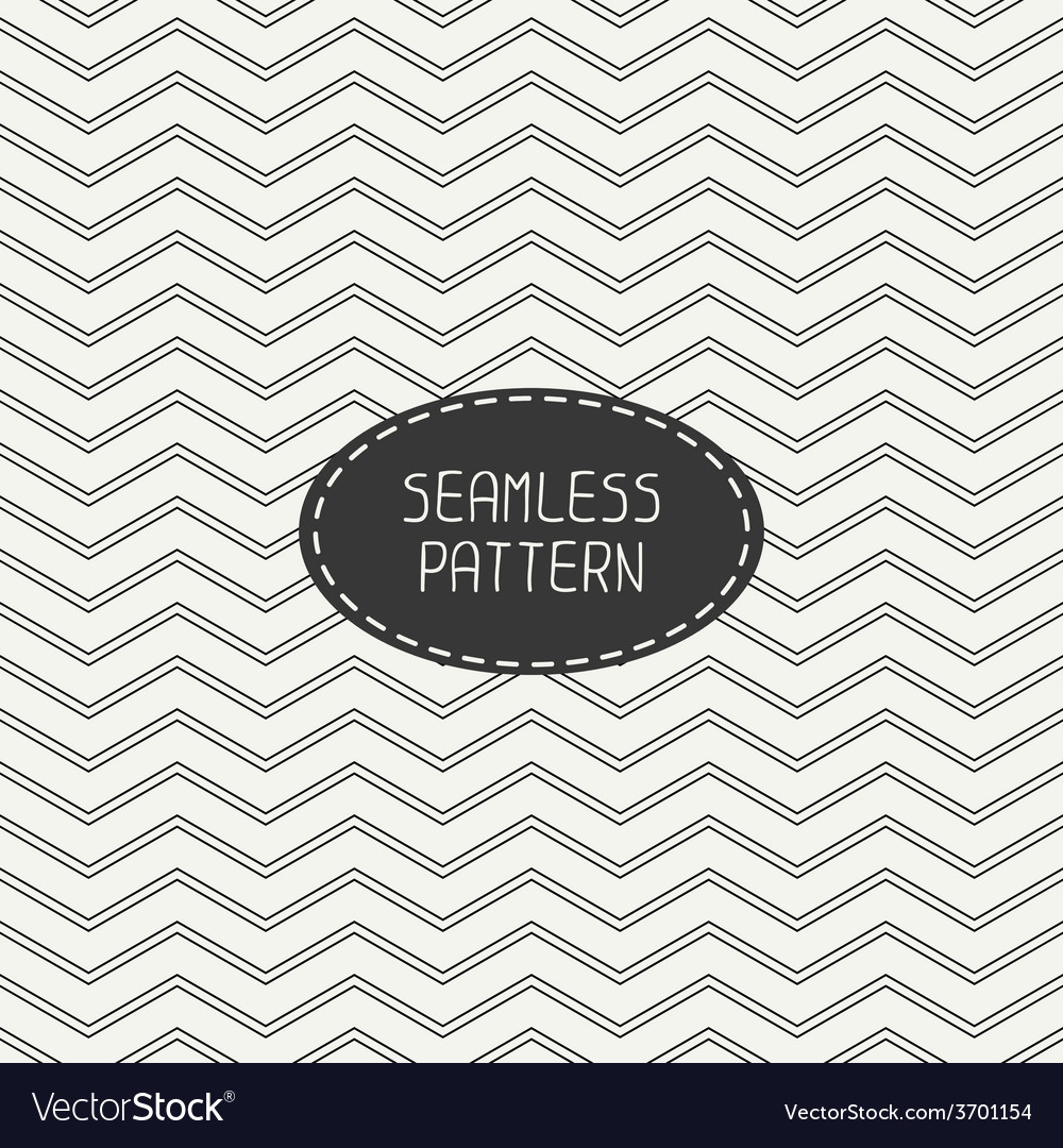 Retro chevron zigzag stripes geometric vector | Price: 1 Credit (USD $1)