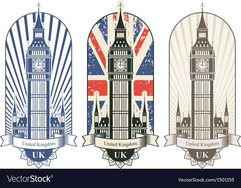 Big ben vector | Price: 3 Credit (USD $3)