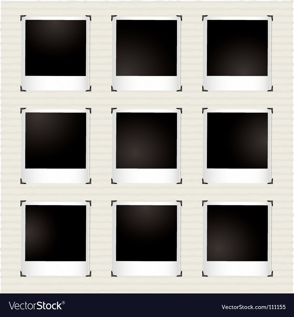 Instant picture gallery vector   Price: 1 Credit (USD $1)
