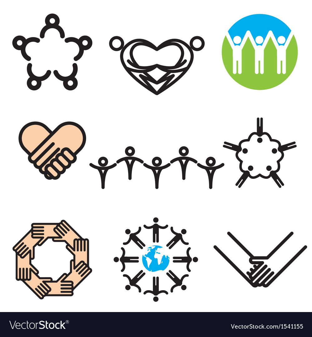 Logo icons unity vector | Price: 1 Credit (USD $1)