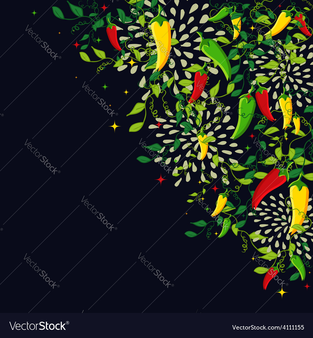 Mexican food background vector | Price: 1 Credit (USD $1)