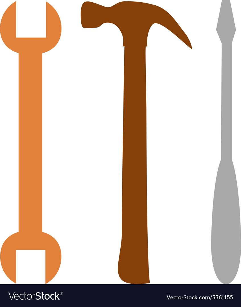 Three tools vector   Price: 1 Credit (USD $1)