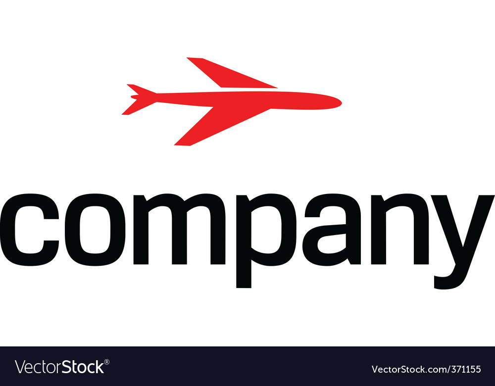Transportation by air logo vector   Price: 1 Credit (USD $1)