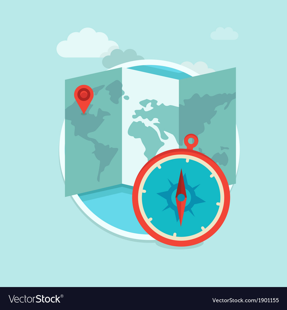 Travel concept vector | Price: 1 Credit (USD $1)