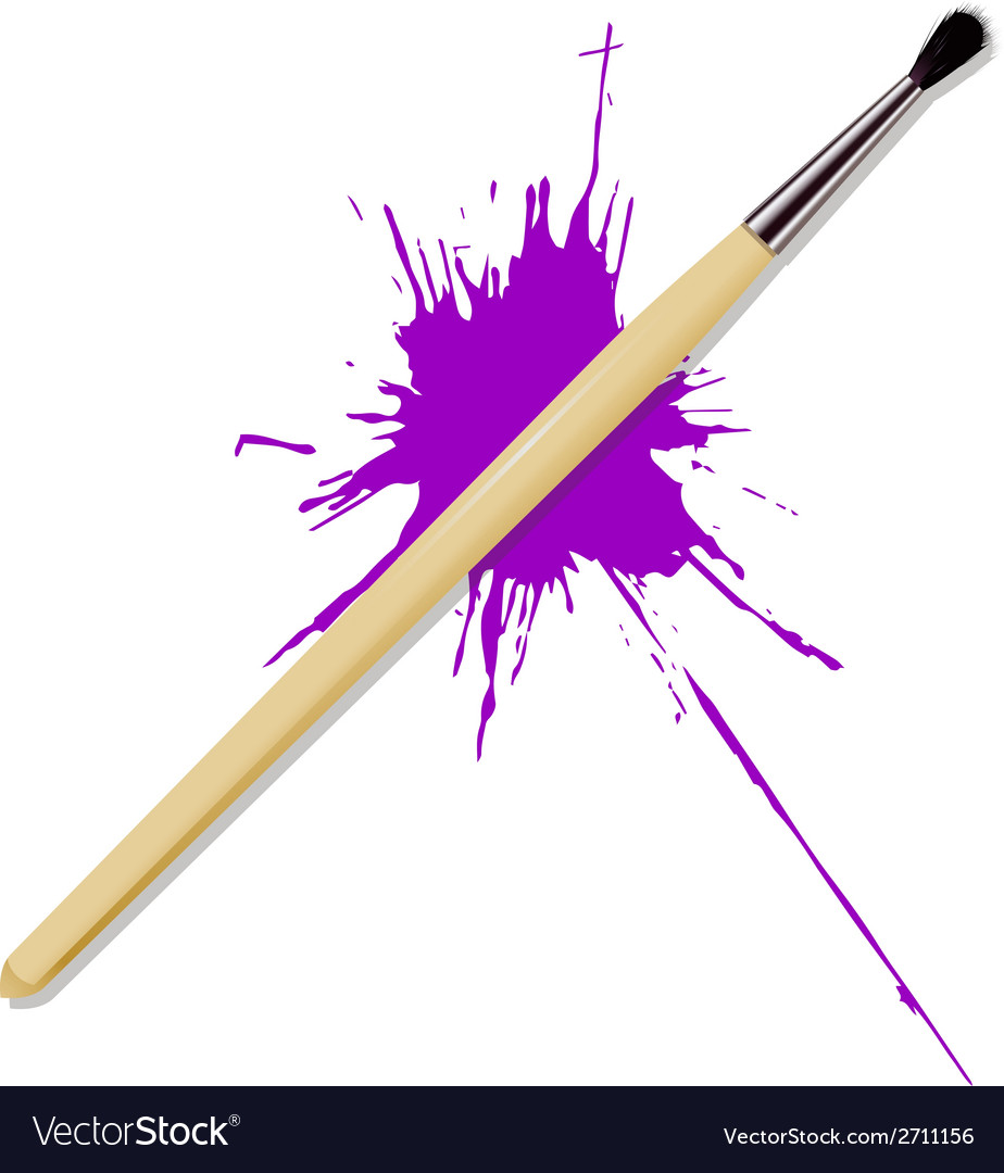 Brush vector | Price: 1 Credit (USD $1)