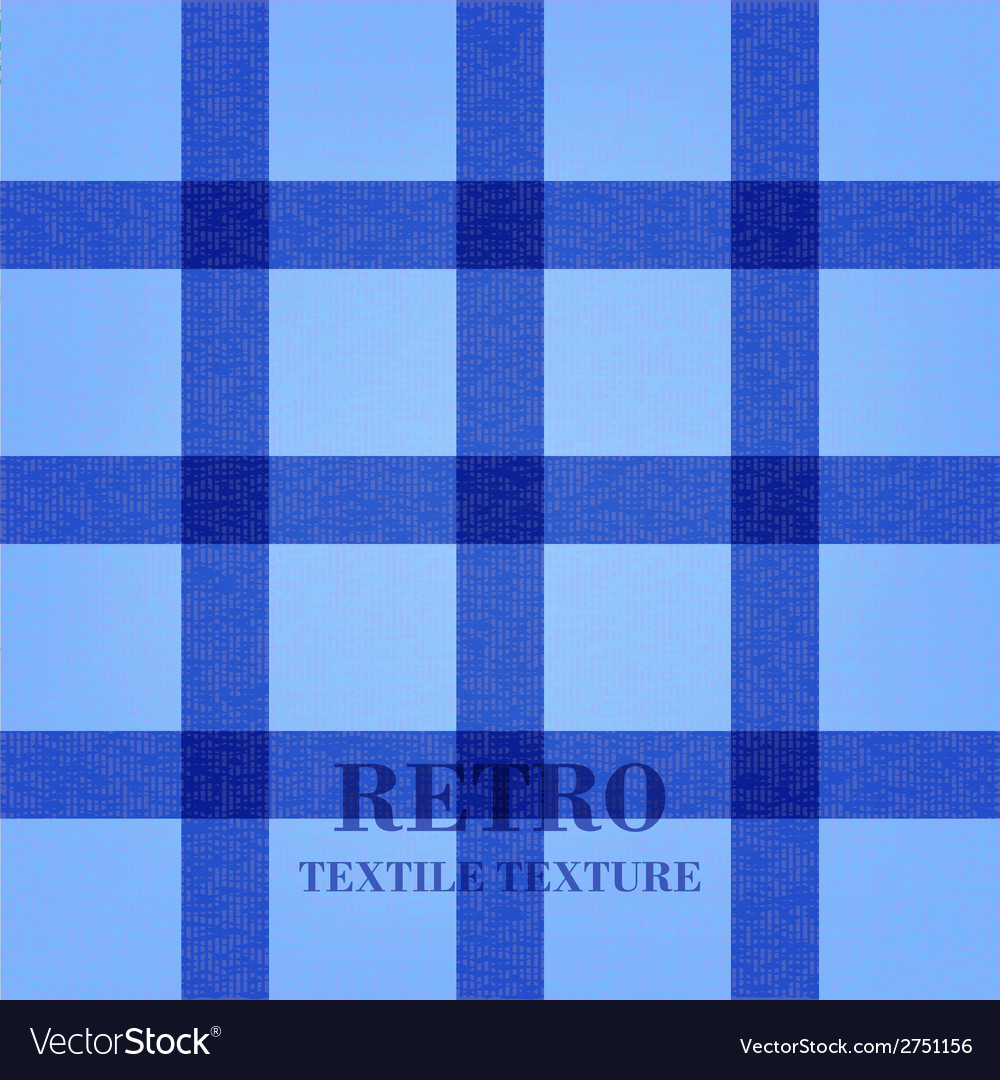 Retro textile background with blue stripes vector | Price: 1 Credit (USD $1)