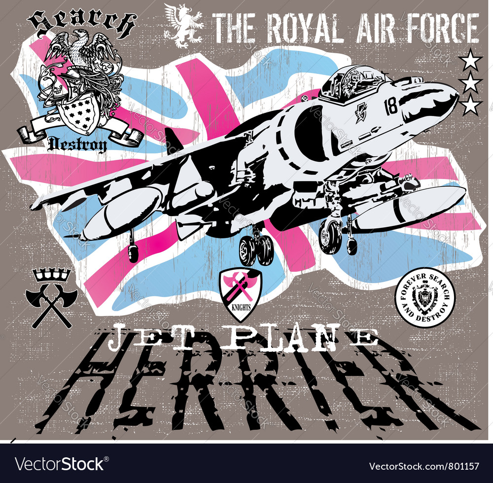 Herrier jet vector | Price: 1 Credit (USD $1)