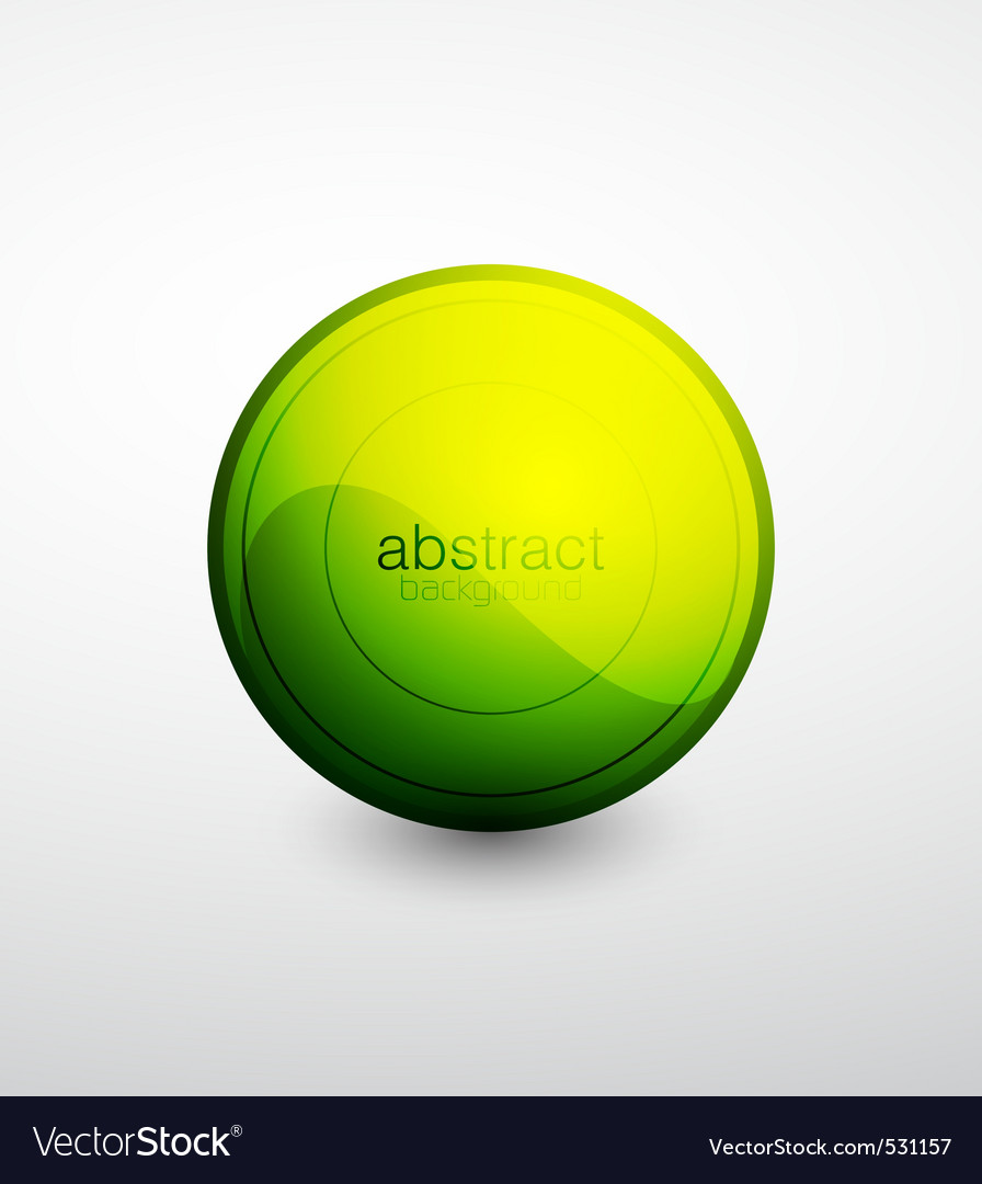 Modern button vector | Price: 1 Credit (USD $1)