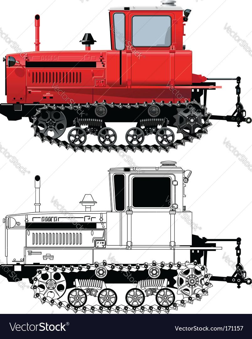 Tractor vector | Price: 5 Credit (USD $5)