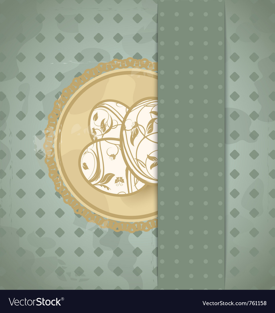 Easter grunge card vector | Price: 1 Credit (USD $1)