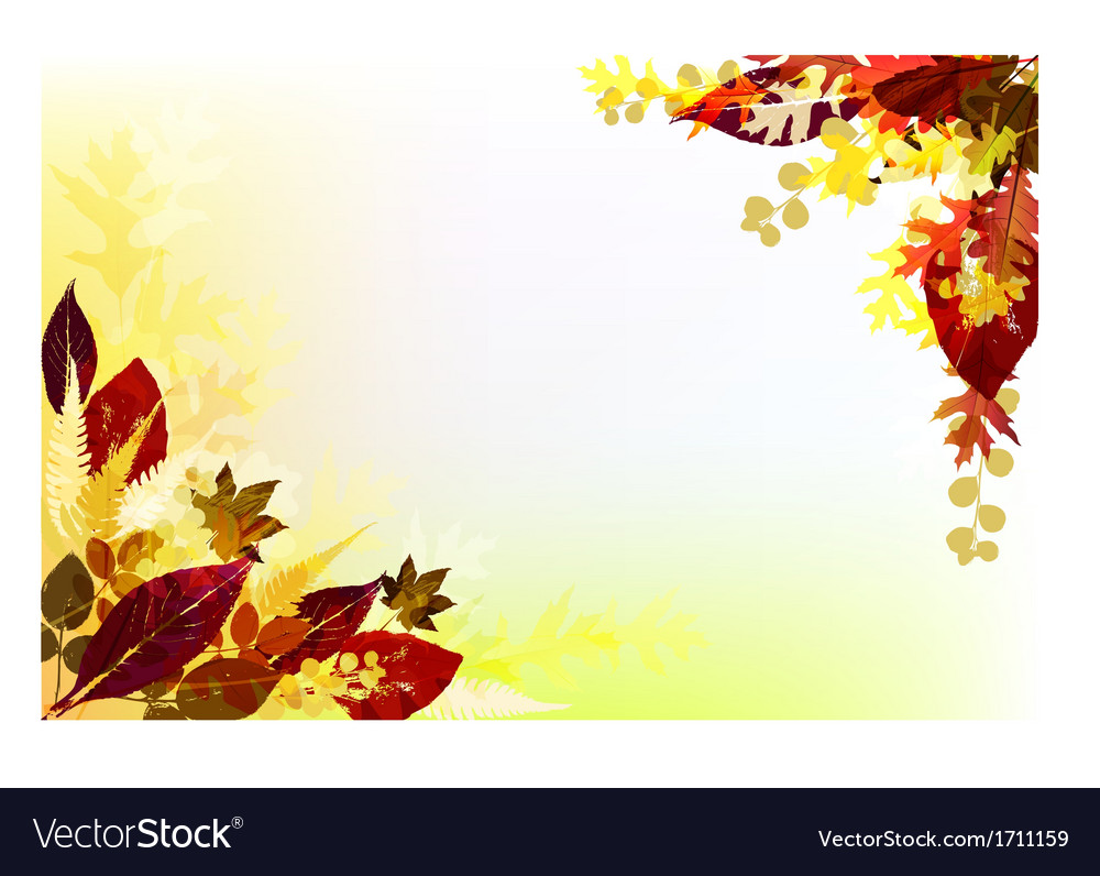 Fall background vector | Price: 1 Credit (USD $1)