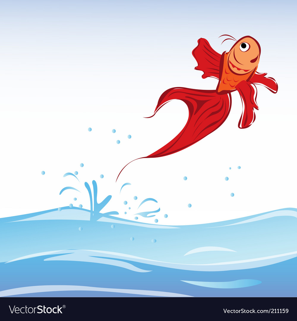 Red fish vector   Price: 1 Credit (USD $1)