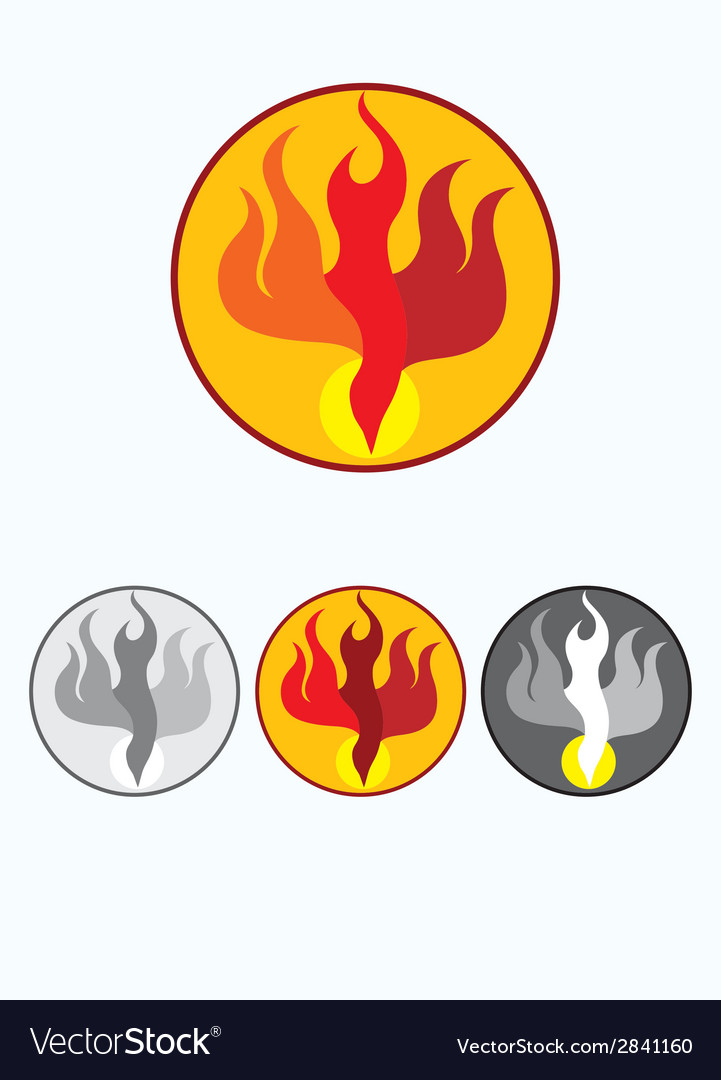 Fire holyspirit vector | Price: 1 Credit (USD $1)