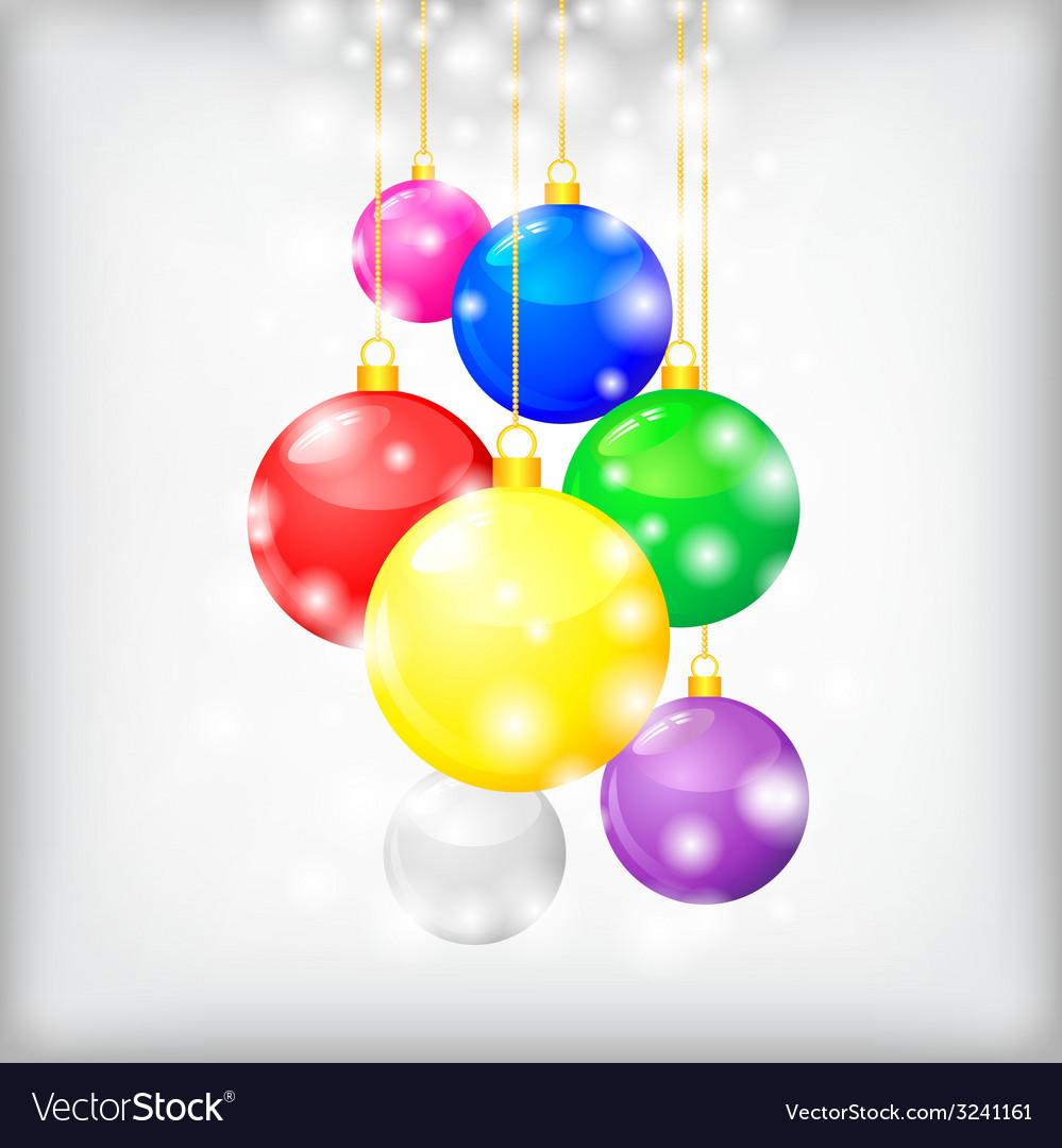 Balls hang1 vector | Price: 1 Credit (USD $1)