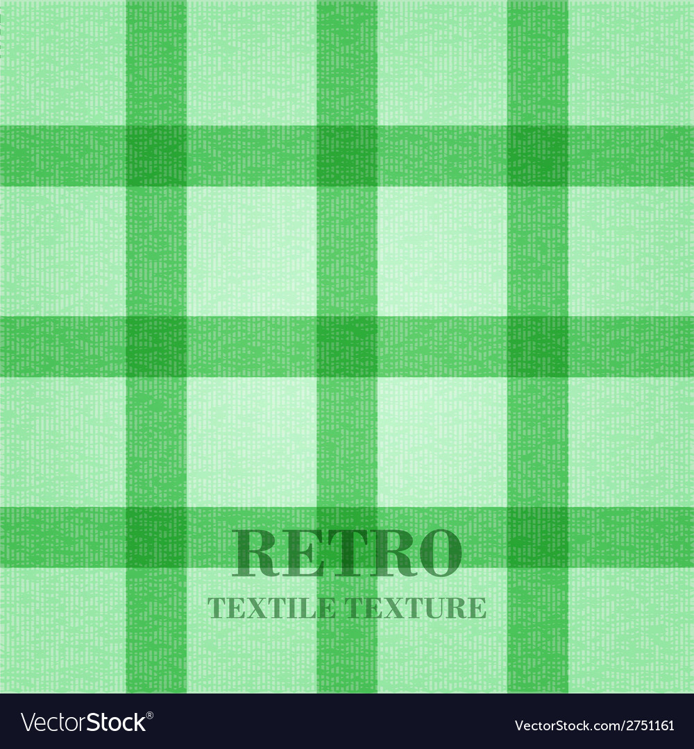 Retro textile background with green stripes vector | Price: 1 Credit (USD $1)