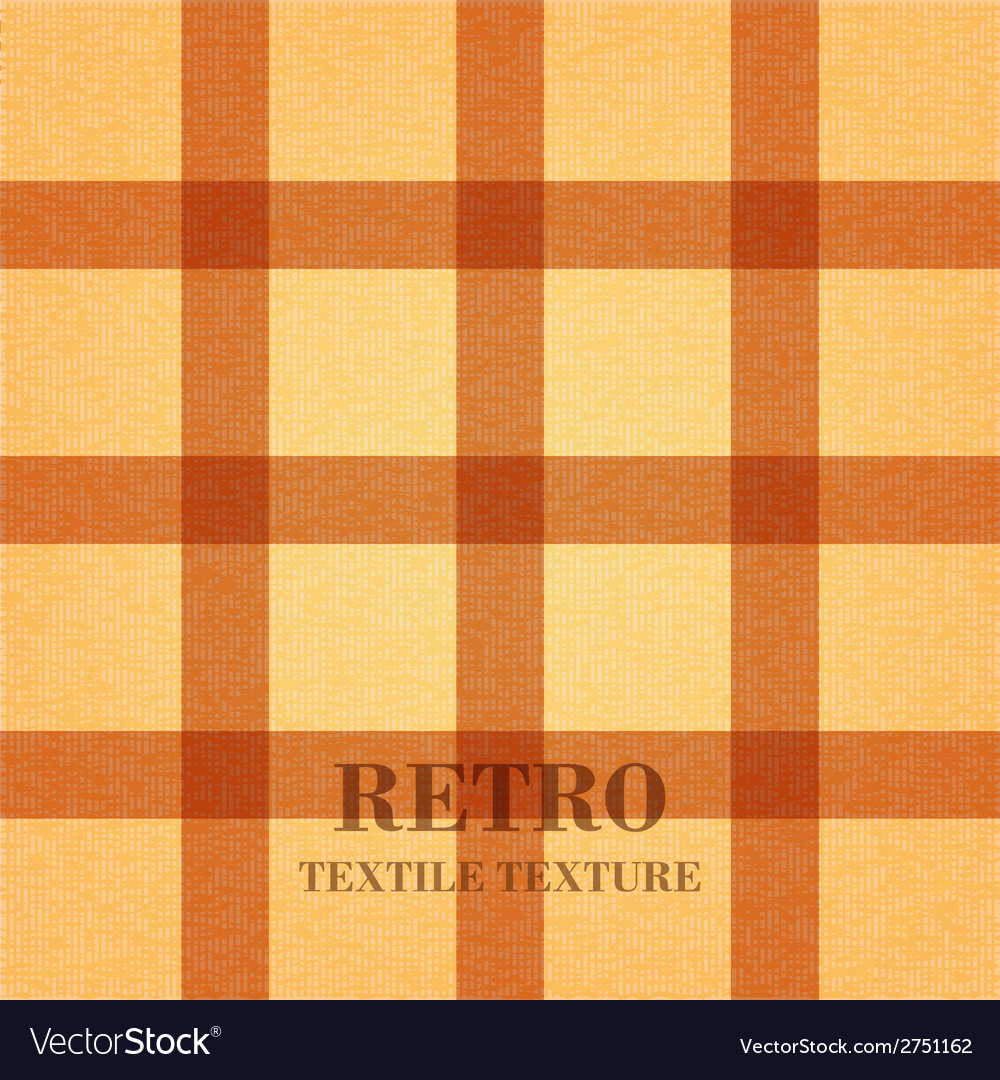 Retro textile background with light brown stripes vector | Price: 1 Credit (USD $1)