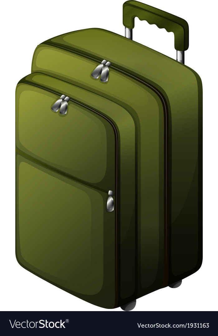 A travel baggage vector | Price: 1 Credit (USD $1)