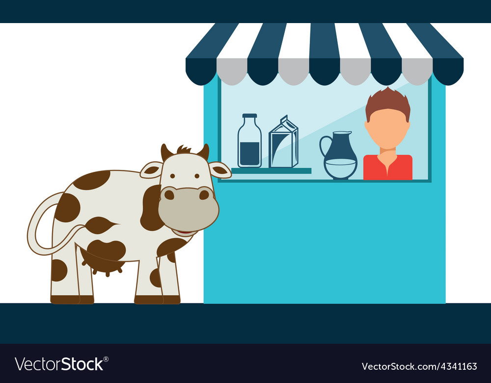Fres milk vector | Price: 1 Credit (USD $1)