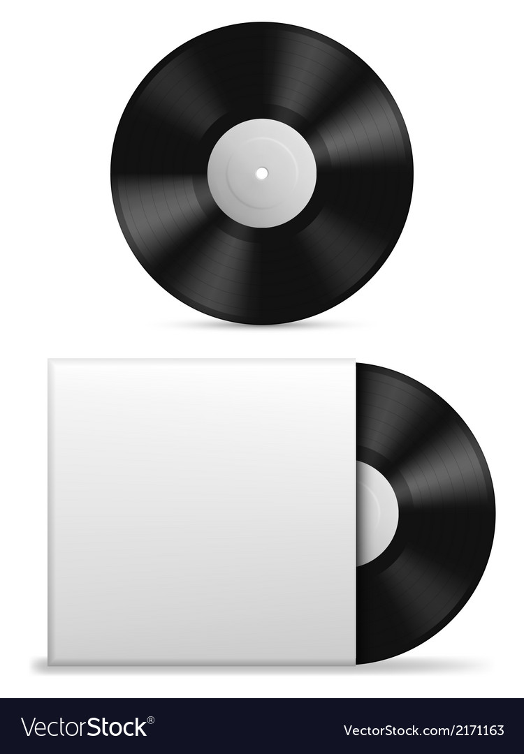 Vinyl record vector | Price: 1 Credit (USD $1)