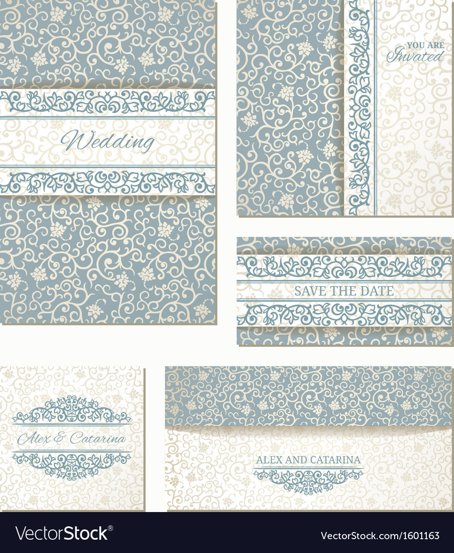 Wedding cards vector | Price: 1 Credit (USD $1)