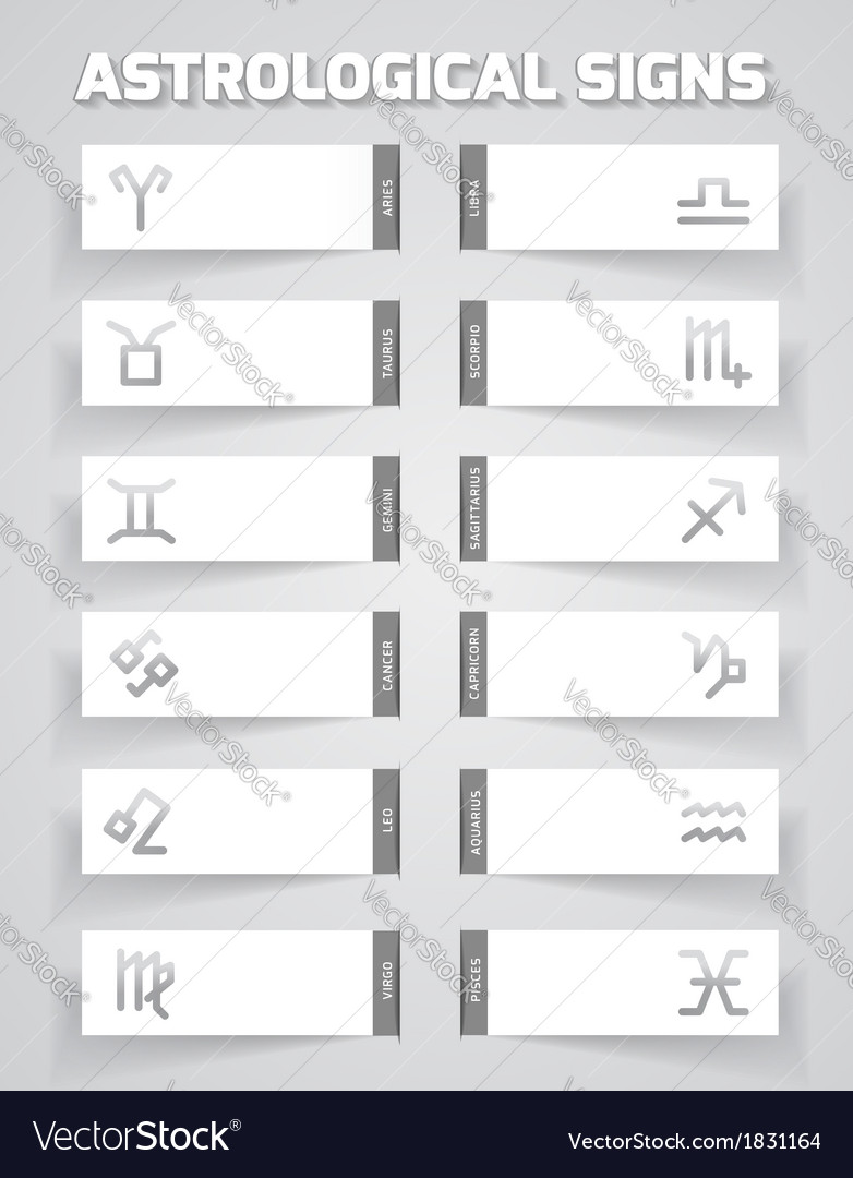 Astrological template vector | Price: 1 Credit (USD $1)