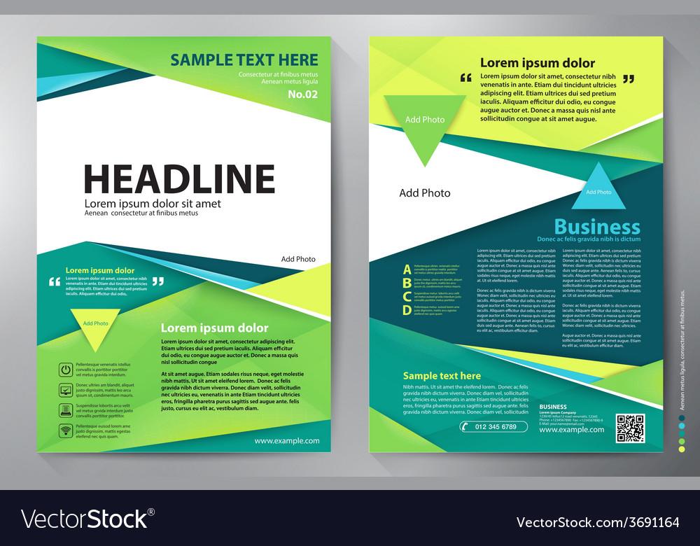 Brochure design a4 template vector | Price: 1 Credit (USD $1)