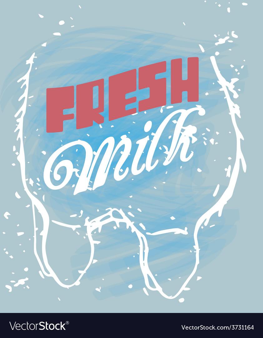 Fresh milk vector | Price: 1 Credit (USD $1)