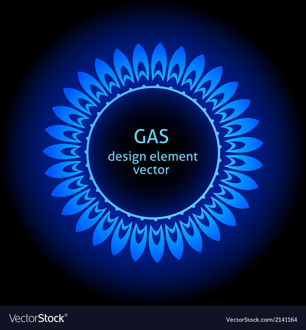Gas burner vector | Price: 1 Credit (USD $1)