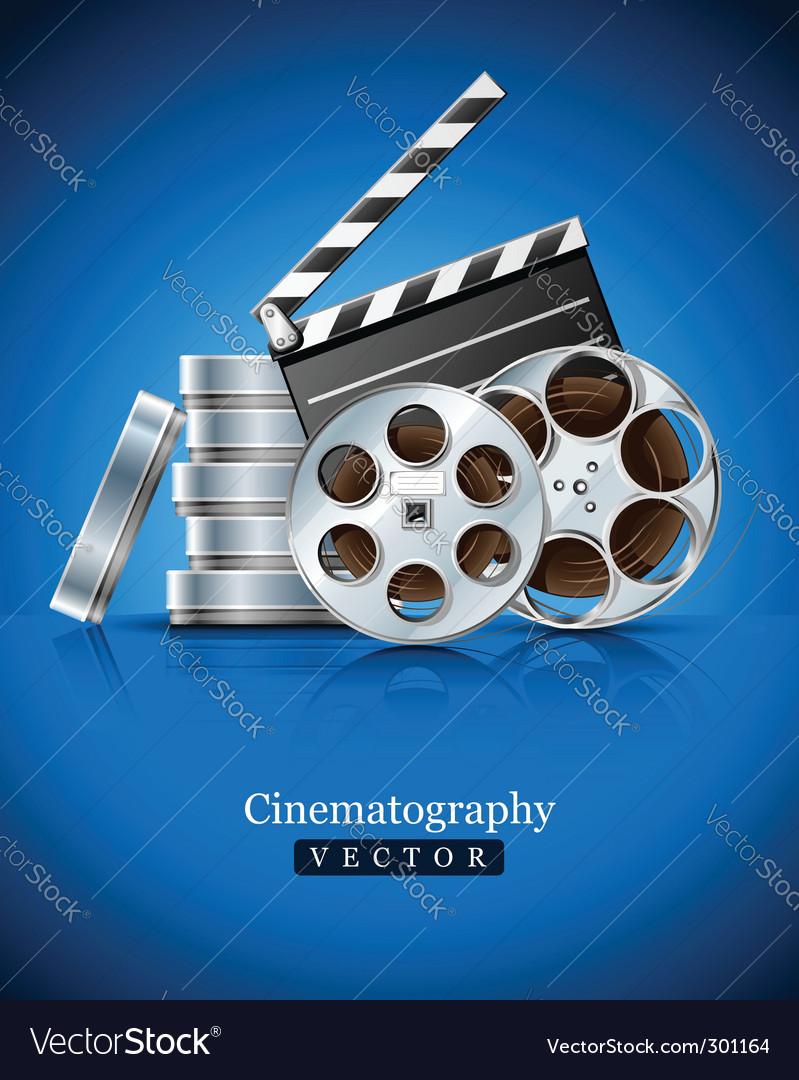 Movie clapper vector | Price: 3 Credit (USD $3)