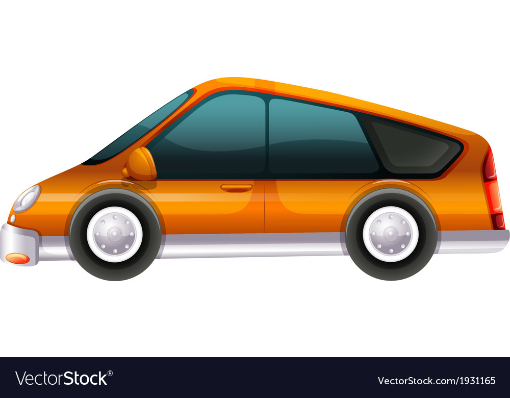 An elegant automobile vector | Price: 1 Credit (USD $1)