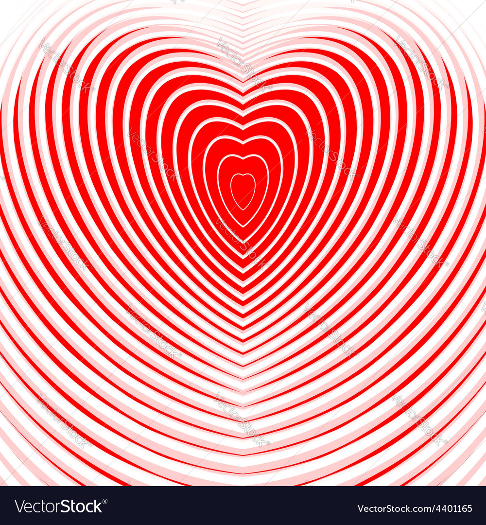 Design heart twisting movement background vector | Price: 1 Credit (USD $1)
