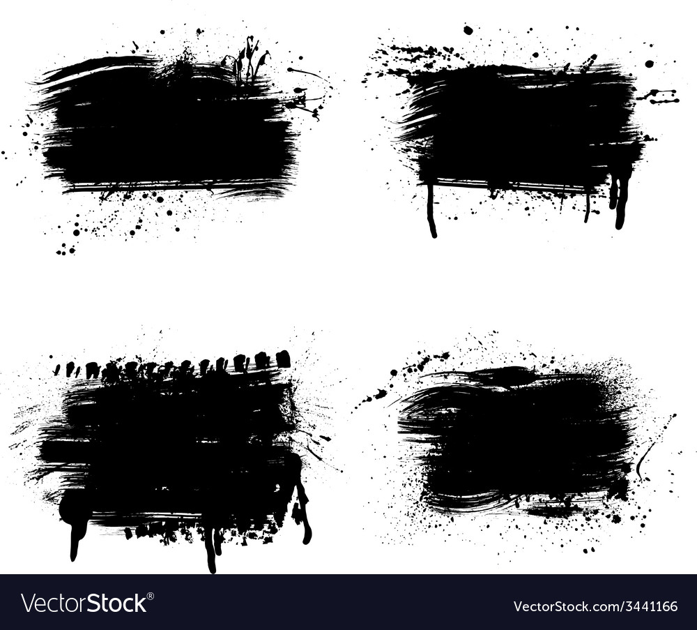 Grunge line parts vector | Price: 1 Credit (USD $1)