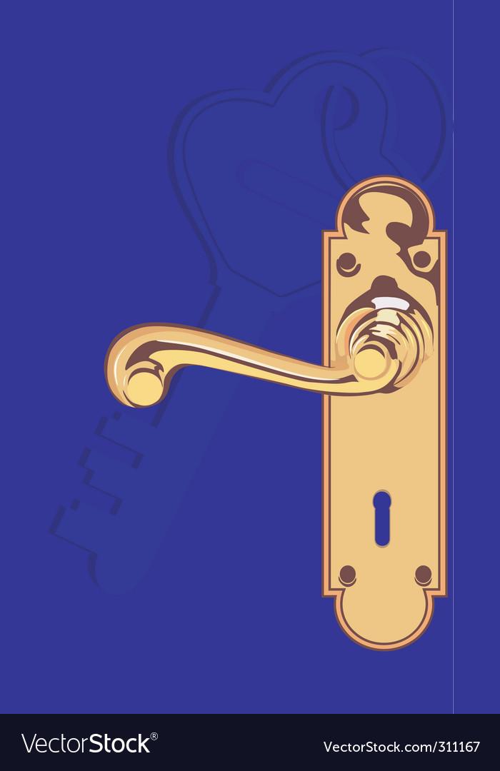 Door lock vector   Price: 1 Credit (USD $1)