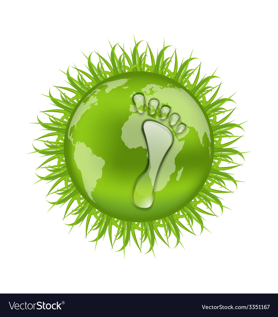 Go green concept save our planet - vector | Price: 1 Credit (USD $1)