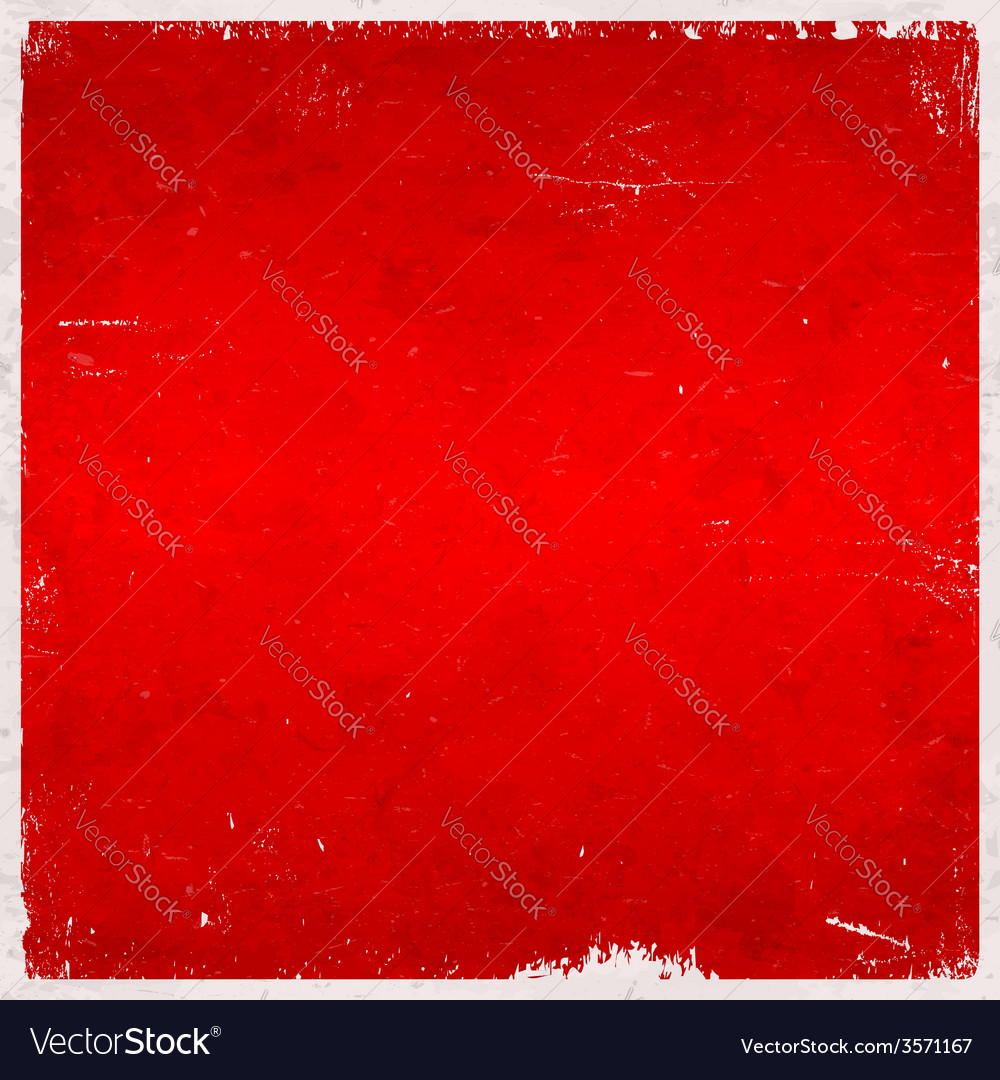 Red christmas themed grungy background vector | Price: 1 Credit (USD $1)