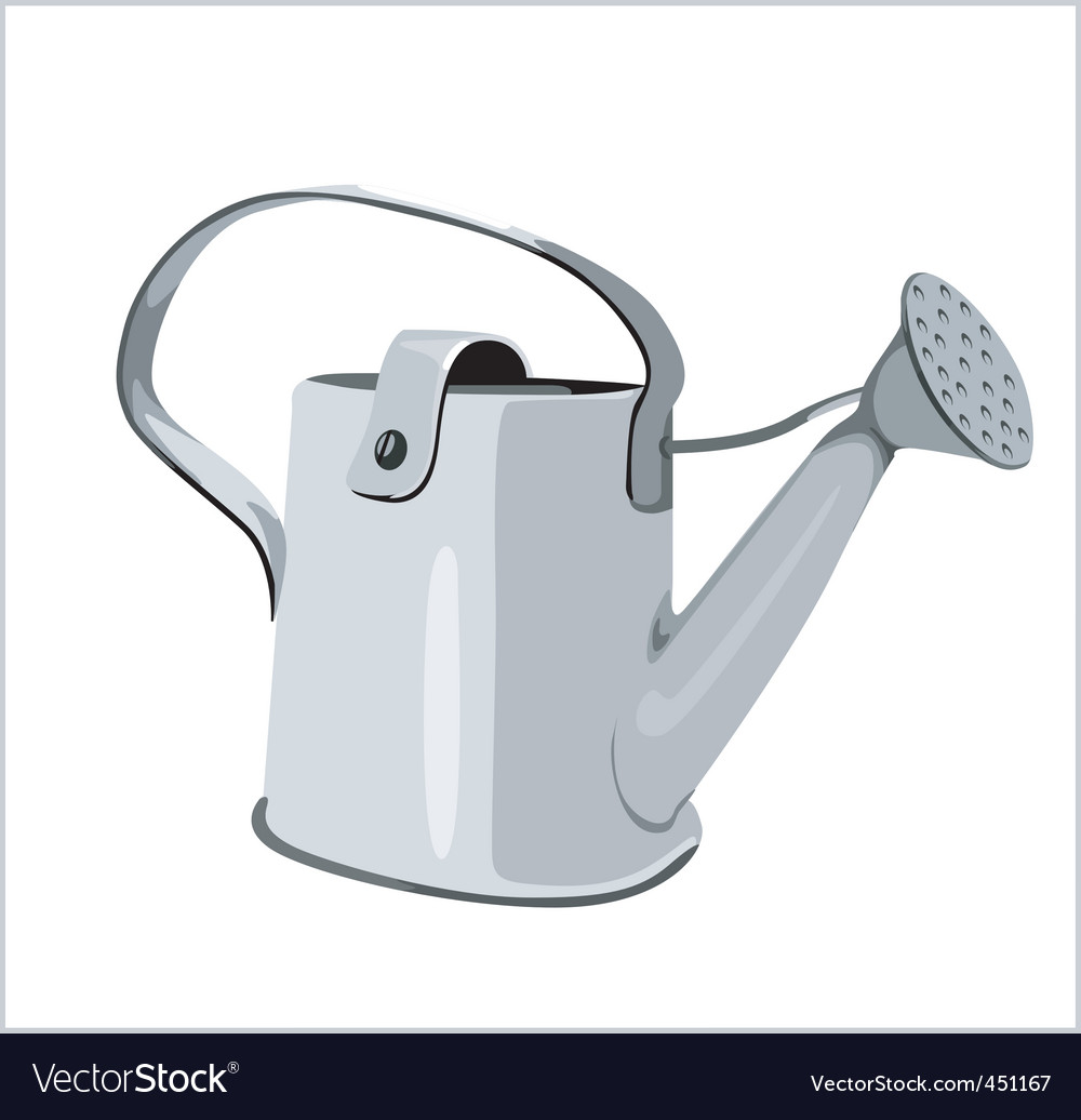 Watering can vector   Price: 1 Credit (USD $1)