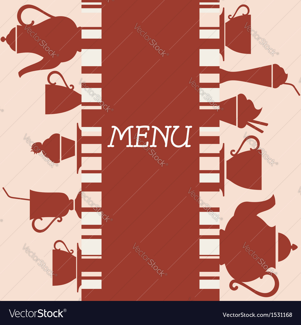 Coffeehouse menu design vector | Price: 1 Credit (USD $1)