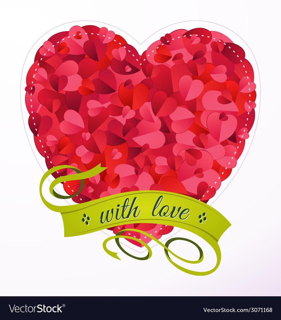 Love ornament vector | Price: 1 Credit (USD $1)
