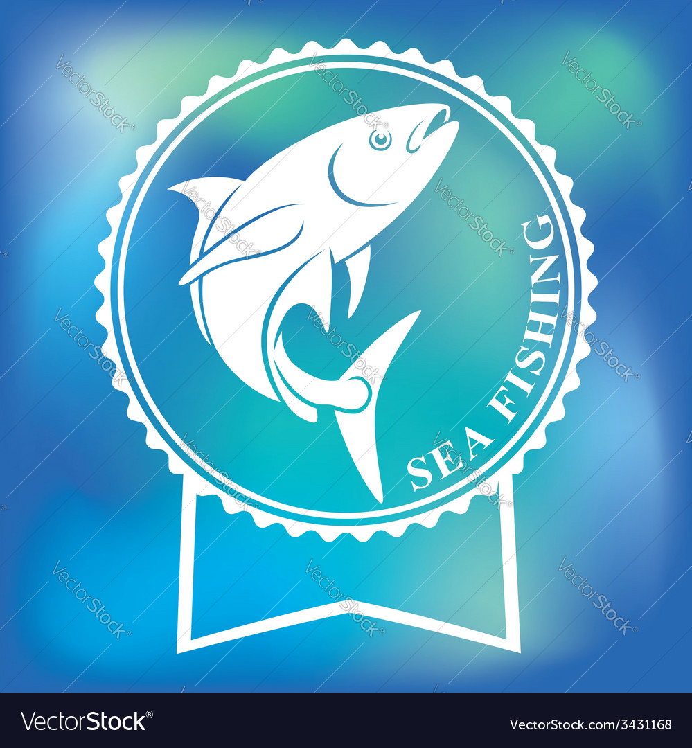 Yellowtail amberjack vector | Price: 1 Credit (USD $1)