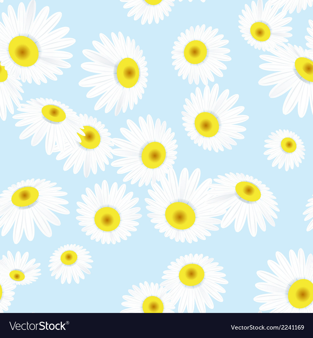 Seamless texture with flowers eps 10 vector | Price: 1 Credit (USD $1)