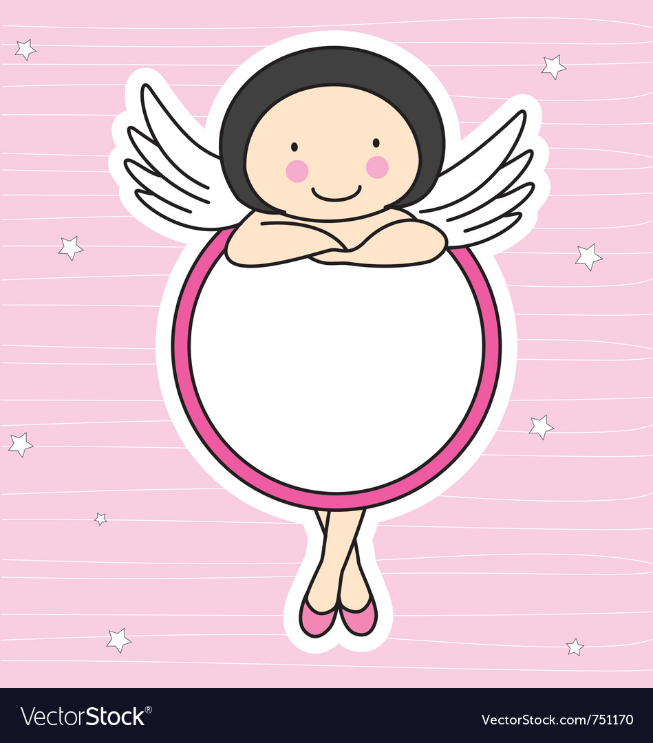 Frame fairy vector | Price: 1 Credit (USD $1)