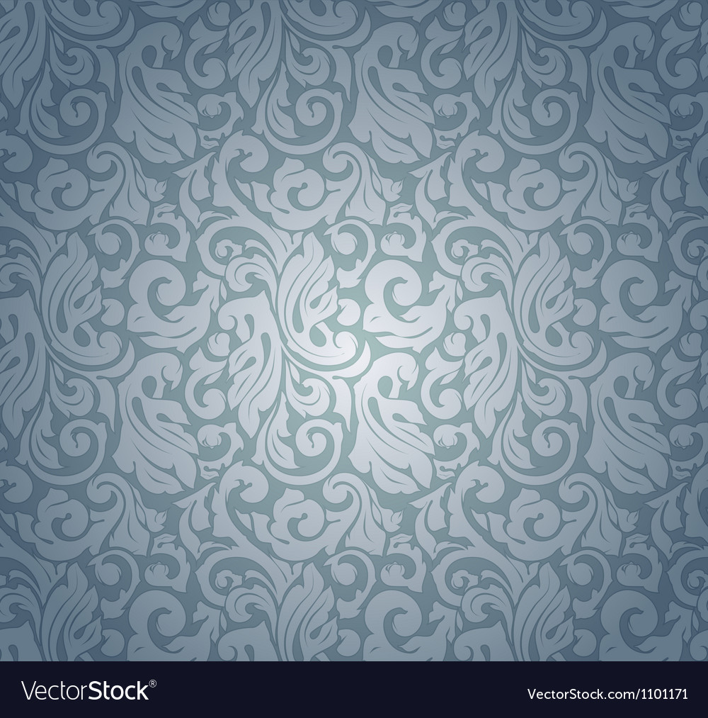 Blue pattern seamless vector | Price: 1 Credit (USD $1)